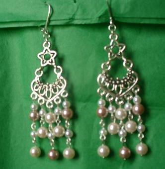 Pearl Chandelier Earrings