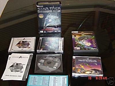STAR TREK STARFLEET COMMAND 3 + 1+ 2 + NEWORLDS+MORE