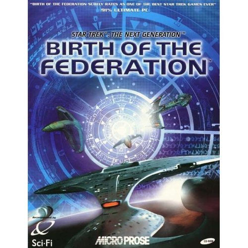 STAR TREK BIRTH OF THE FEDERATION JEWEL CASE EDITION