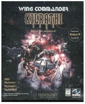 WING COMMANDER KILRATHI SAGA RARE BIG BOX RELEASE