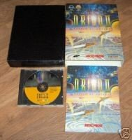 MASTER OF ORION 2 FULL BIG BOX WITH 200 PAGE MANUAL
