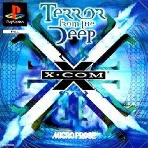 X COM TERROR FROM THE DEEP RARE PLAYSATION VERSION