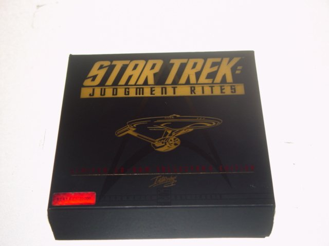 Star Trek Judgment Rites Limited CD-ROM & Video Collection Box Set