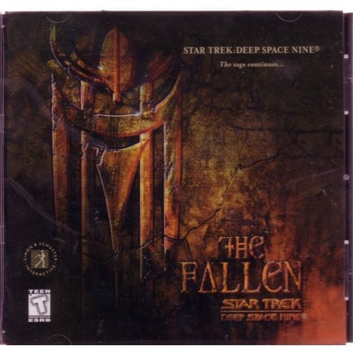 Star Trek Deep Space Nine: The Fallen (PC) big box fold out cover