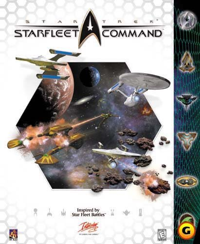 Star Trek: Starfleet Command original big box release