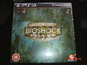BIOSHOCK 2 COLLECTORS EDITON BOX SET PS3 VERSION