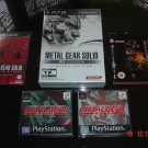 METAL GEAR SOLID HD COLLECTION LIMITED EDITION RARE + TWIN SNAKES+MGS+SPOPS+MGS4