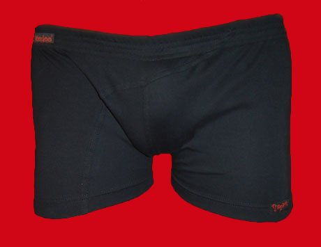 STOCK#3 [L] BOXER LOW RISE - VOODOO SPIRIT - BLACK, FITTED