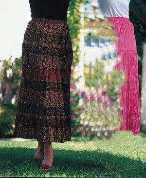 """Sacred Threads 36"""" Rayon Skirt"""