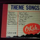 Krupa Calloway Basie OKeh Records Theme Songs Set K-4 1942 Jazz 78