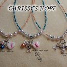"CUSTOMIZE Your Own ""CHRISSY'S HOPE"" Necklace"