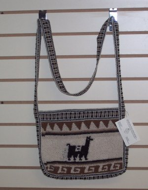 Alpaca Purse with Alpaca Design