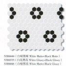 "Hexagon 1"" Glazed &Unglazed for Kitchen and Bathroom 11PCS/Square Meter"