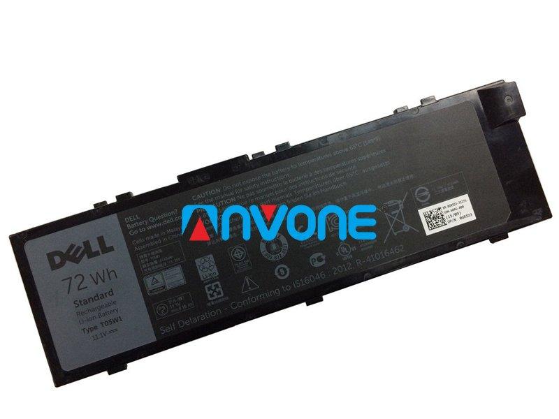 T05W1 Battery 1V0PP For Dell Precision 7710 M7710 7510 0FNY7 451-BBSE GR5D3 MFKVP