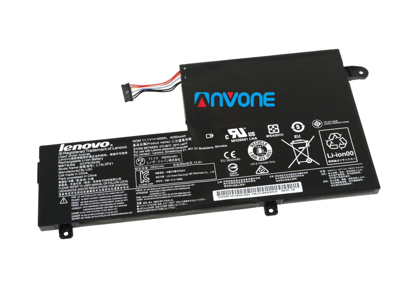 L14L3P21 5B10K10214 Battery For Lenovo FLEX 3-1580 FLEX 3-1480