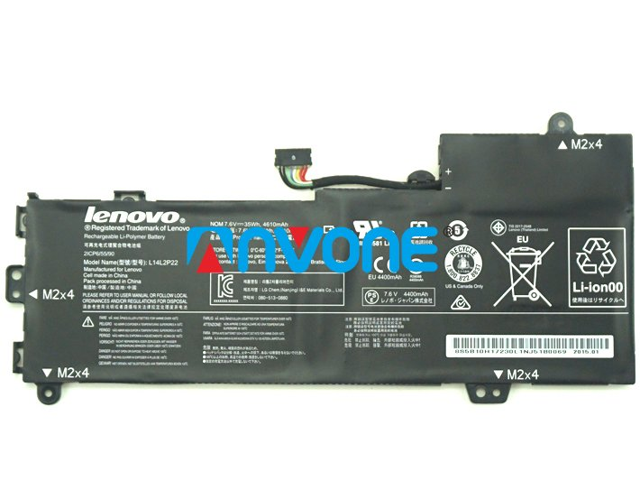 L14M2P24 Battery 5B10K10222 5B10K10178 For Lenovo U31 U31-70