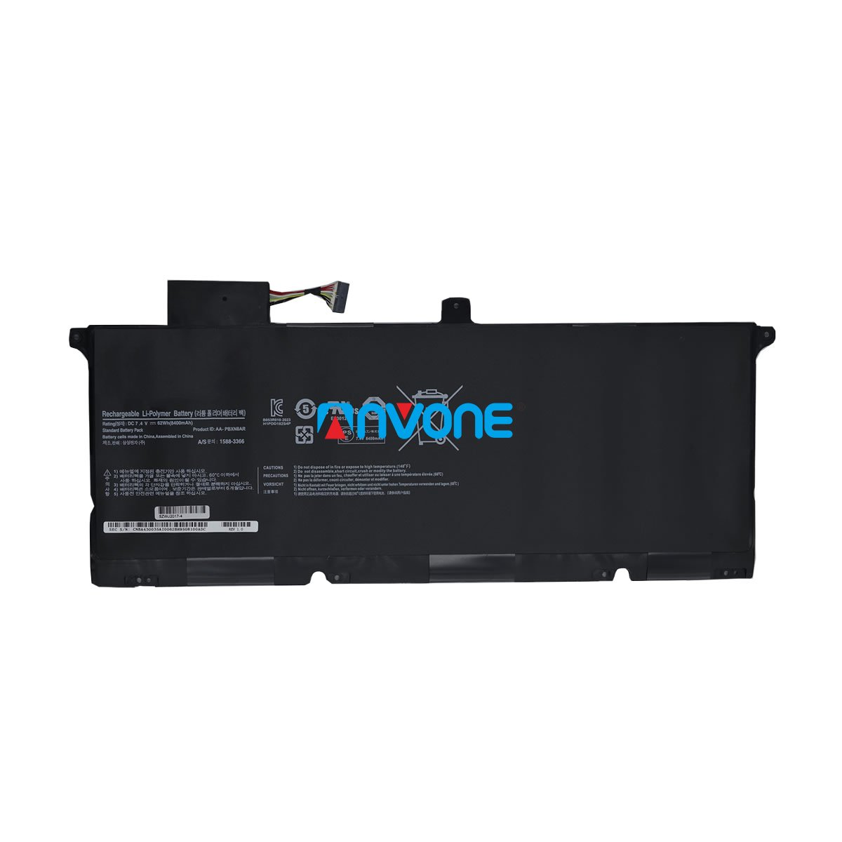 Samsung AA-PBXN8AR Battery Samsung 900X4B-A01FR 900X4B-A02 Battery