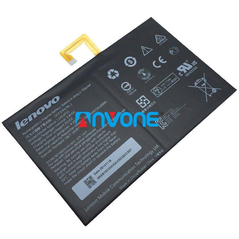L14D2P31 Battery For Lenovo A10-70F A10-70 A10-70L Tab 2 TB2-X30 TB2-X30M