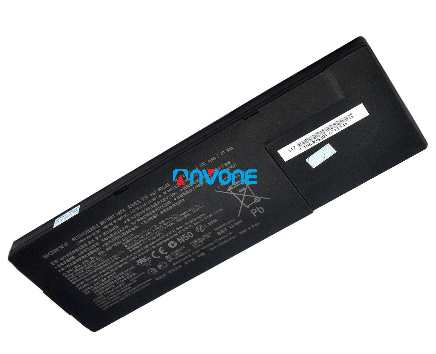 Original VGP-BPS24 Sony VAIO SVS15129CJS SVS1512AJ SVS1512S SVS1512S1C Battery