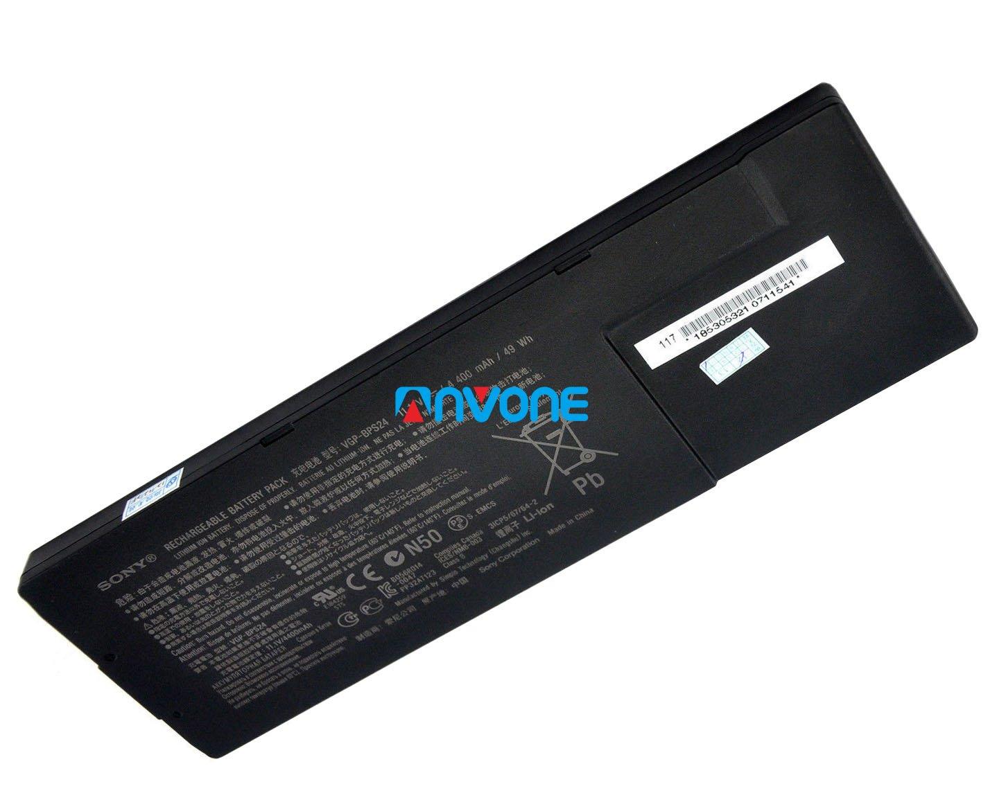 Genuine VGP-BPS24 Sony VAIO VPC-SA25GG/BI VPC-SA25GG/T VPC-SA25GH/T VPC-SA26GA/BI Battery