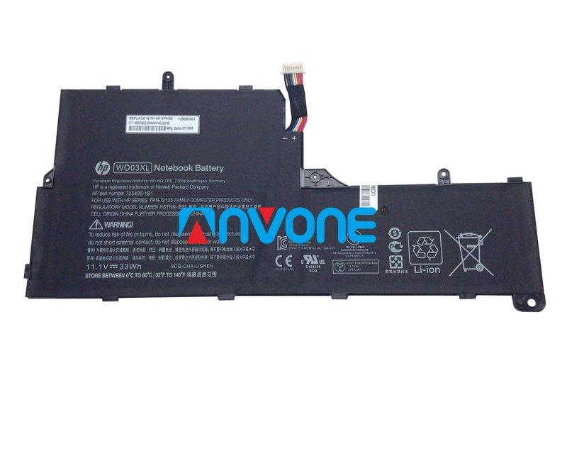 725606-001 Battery HSTNN-DB5I TPN-Q133 725496-1B1 For HP Split X2 13-M