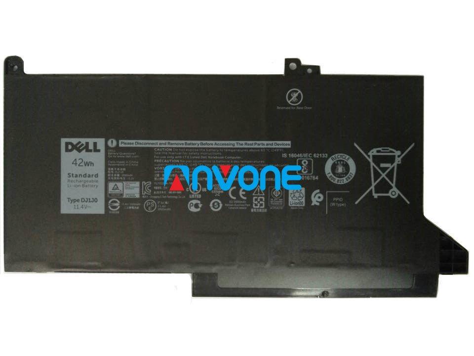 Dell Latitude 7280 7480 Battery DJ1J0 451-BBZL 0NF0H 0C27RW