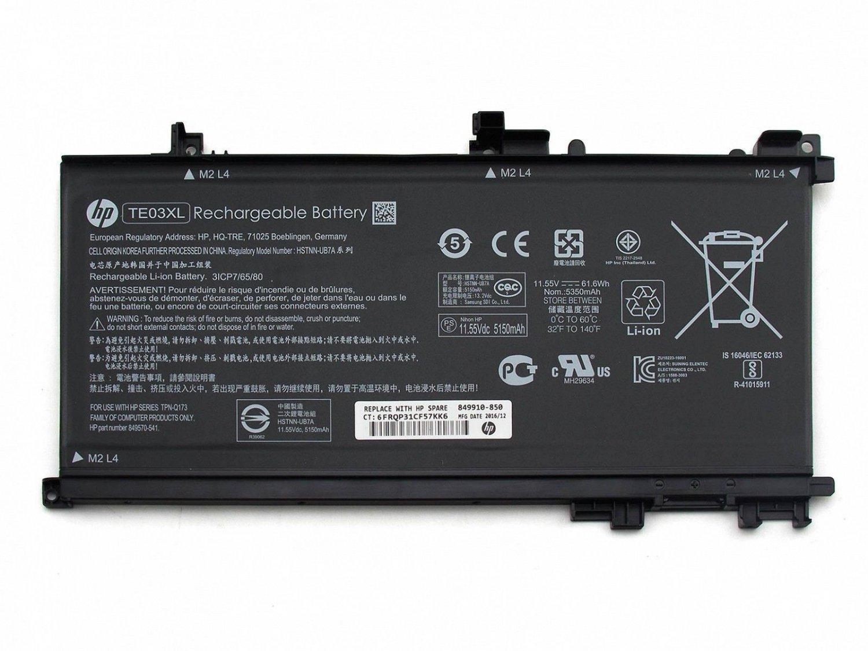TE03XL Battery For HP OMEN 15-AX005NG 15-AX008NG 15-AX006NG 15-AX007NG