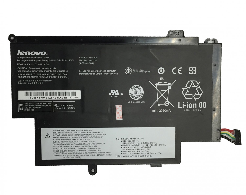 47Wh 45N1706 45N1707 Battery For Lenovo Thinkpad S1 Yoga 20DLA00ACD 20DLA00BCD