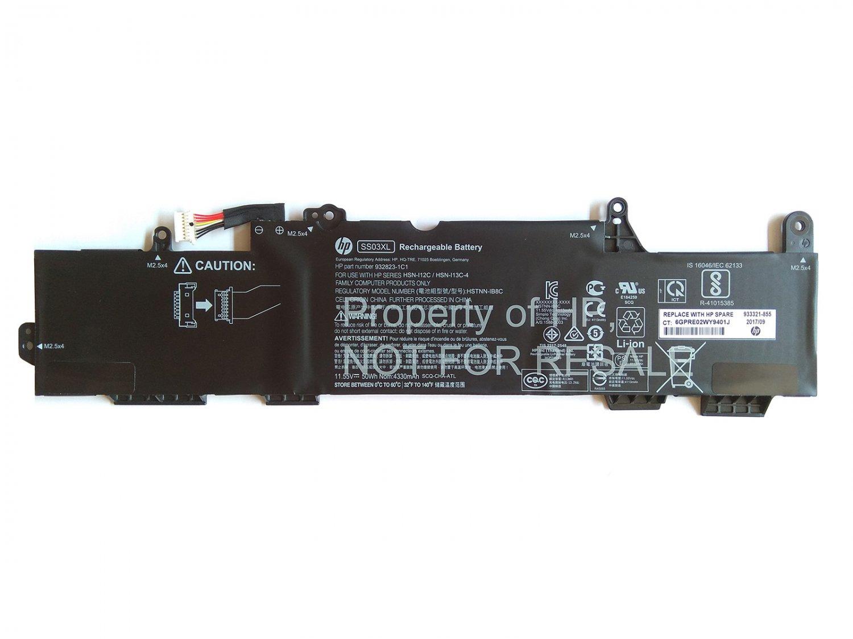 HP HSN-I12C Battery 933321-855 SS03XL HSTNN-IB8C HSTNN-LB8G HSN-I12C