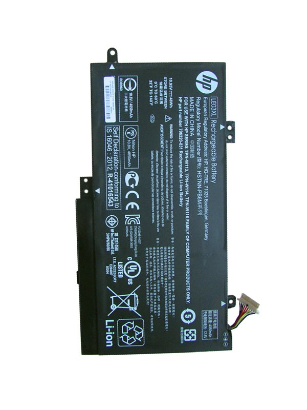 HP Pavilion X360 15-BK001NT Battery 796356-005 LE03XL 796220-541 TPN-W113 LE03