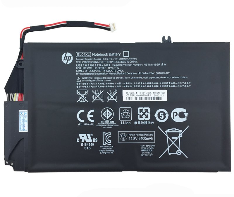 HP EL04XL Battery 681879-171 For HP Envy 4-1015TX 4-1016NR 4-1016TU