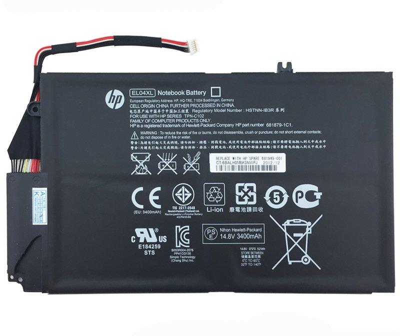 HP EL04XL Battery 681949-001 For HP Envy 4-1208TU 4-1208TU 4-1209TX