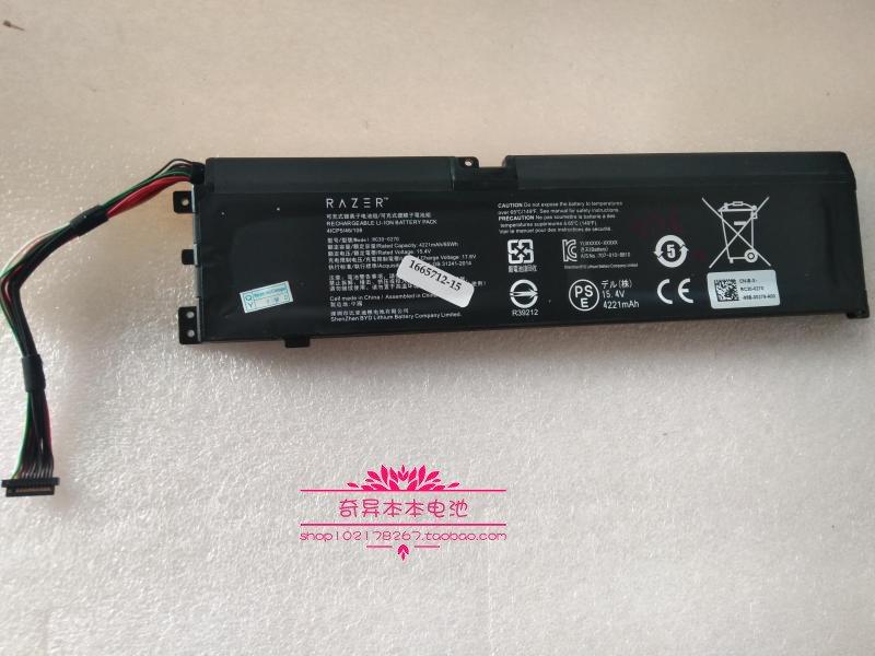 RC30-0270 Battery For Razer 4ICP5/46/108 15.4V 65Wh