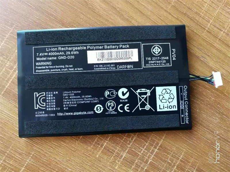 Gigabyte GND-D20 Battery