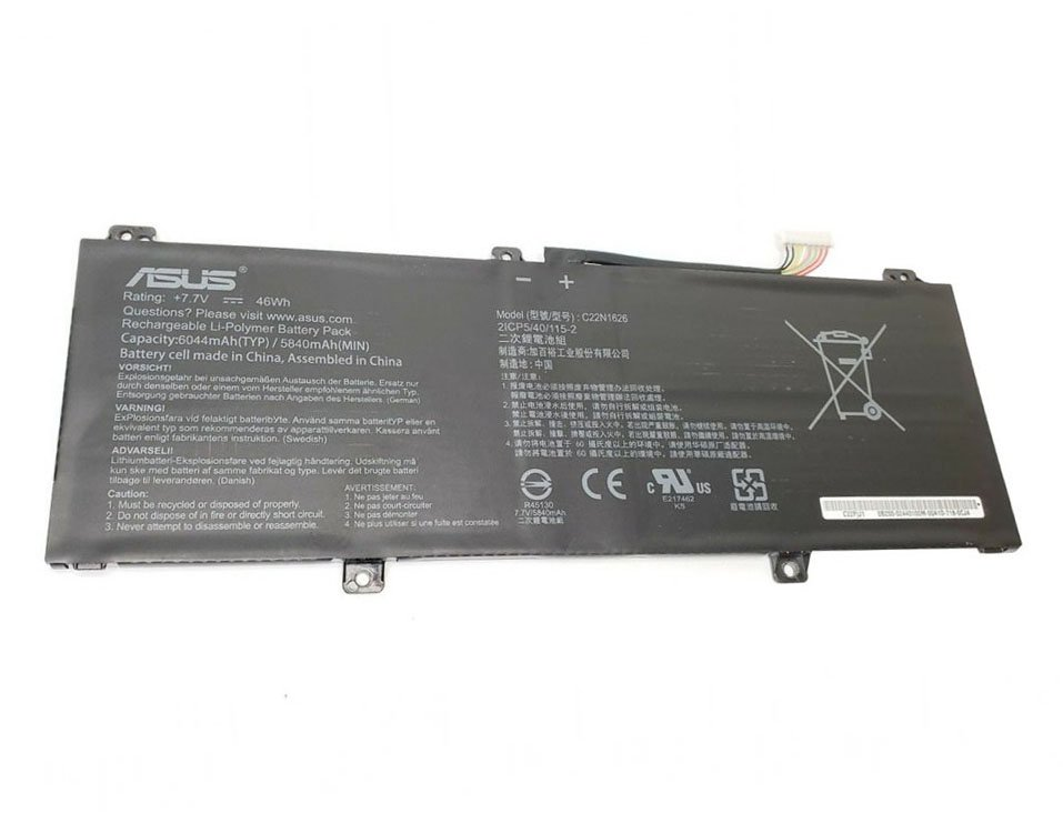 C22N1626 C22PjJH Battery For Asus Chromebook Flip C213 C213NA C213NA-BW0026