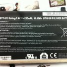 BTY-S19 Battery 925TA026F 925TA029F 40033906 G25TA004F For MSI WindPad 110