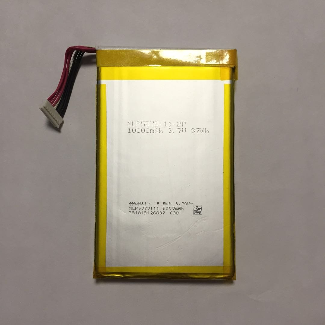 Genuine Battery For Autel MaxiSys MS906BT MS906TS MLP5070111-2P 10000mAh 3.7V 37Wh