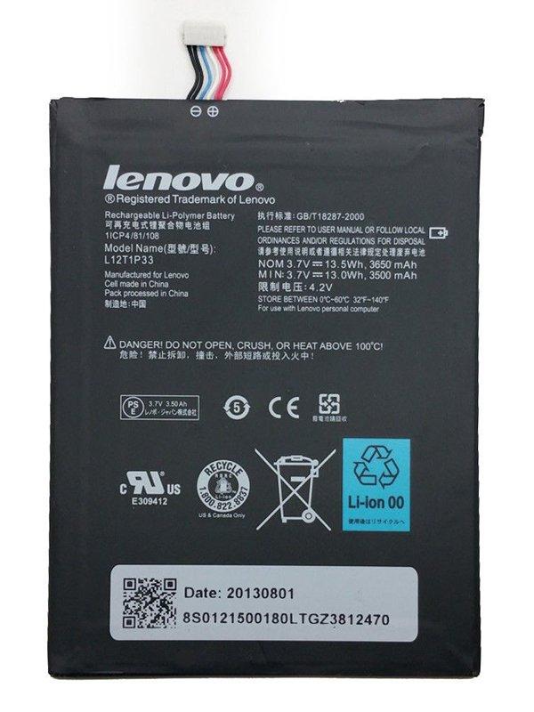 L12T1P33 Battery For Lenovo IdeaTab A1000 A1010-T A1020 A1000-L/T A3000 A3000-H A3300-T A5000-E