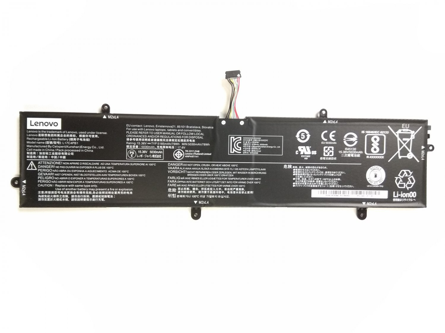 5B10P35082 5B10P35083 5B10P35084 Battery For Lenovo ideapad 720S-15IKB