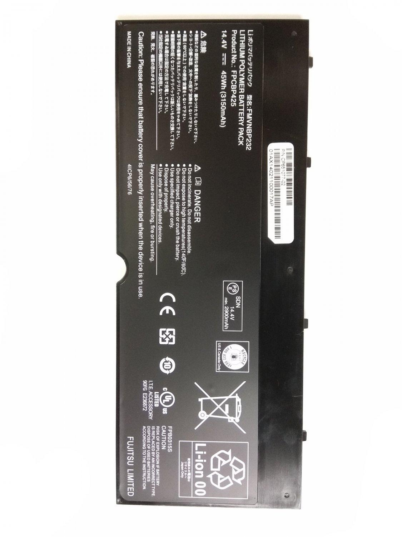 FPB0315S Battery FPCBP425AP CP672945-01 For Fujitsu Lifebook U745 T935 T936 T904U
