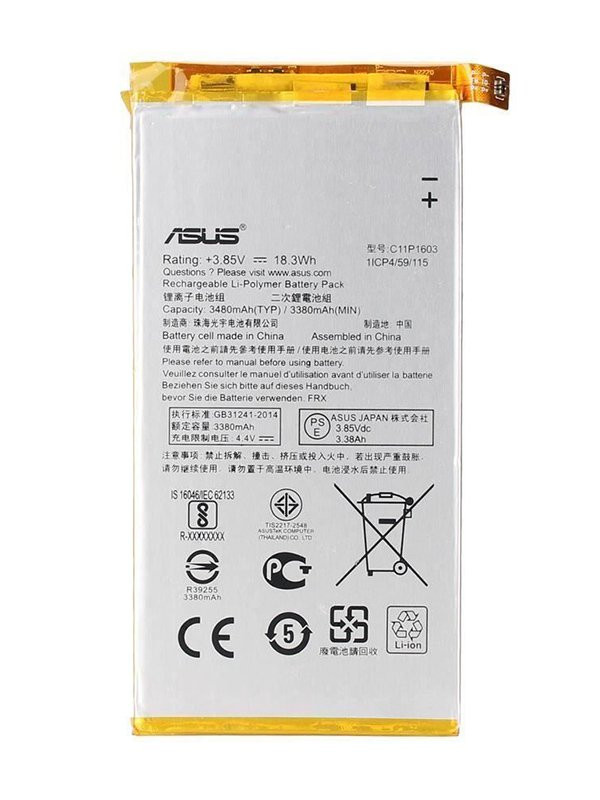 C11P1603 Battery For Asus ZenFone 3 Deluxe ZS550KL Z01FD 3.85V 18.3Wh
