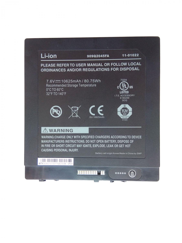 Genuine BTP-87W3 BTP-80W3 Battery for Xplore iX104C2D iX104RD XC6 DMSR 909T2021F
