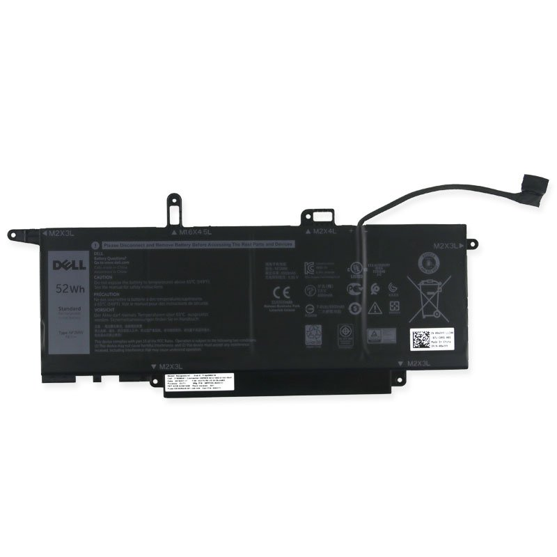 Genuine NF2MW Battery 8W3YY For Dell Latitude 7400 2-In-1 Laptop 02K0CK 08W3YY 7.6V 52Wh