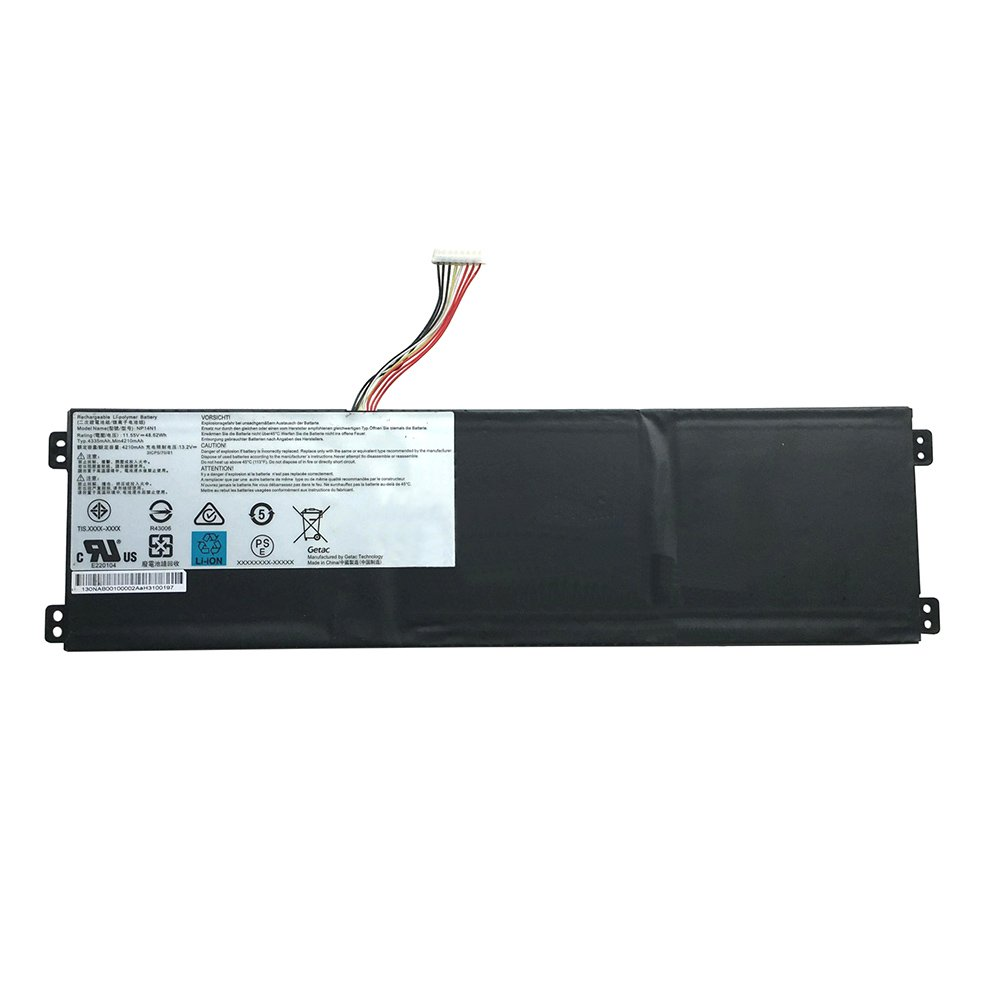 Genuine NP14N1 Battery For Getac NP14N1 3ICP5/70/81 Series Laptop 11.55V 48.62Wh 4335mAh