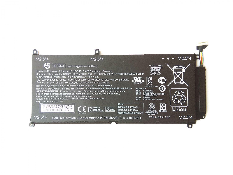804072-241 807211-121 HP Envy M6-P113DX Battery LP03048XL HSTNN-DB6X HSTNN-DB7C