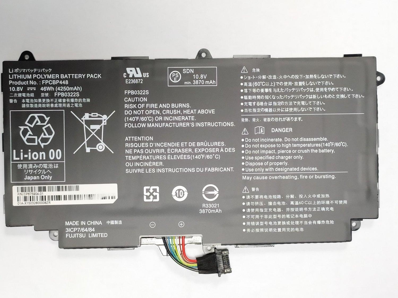 New FPCBP448 Battery for Fujitsu Stylistic Q775 Q736 Q737 FPB0322S OEM