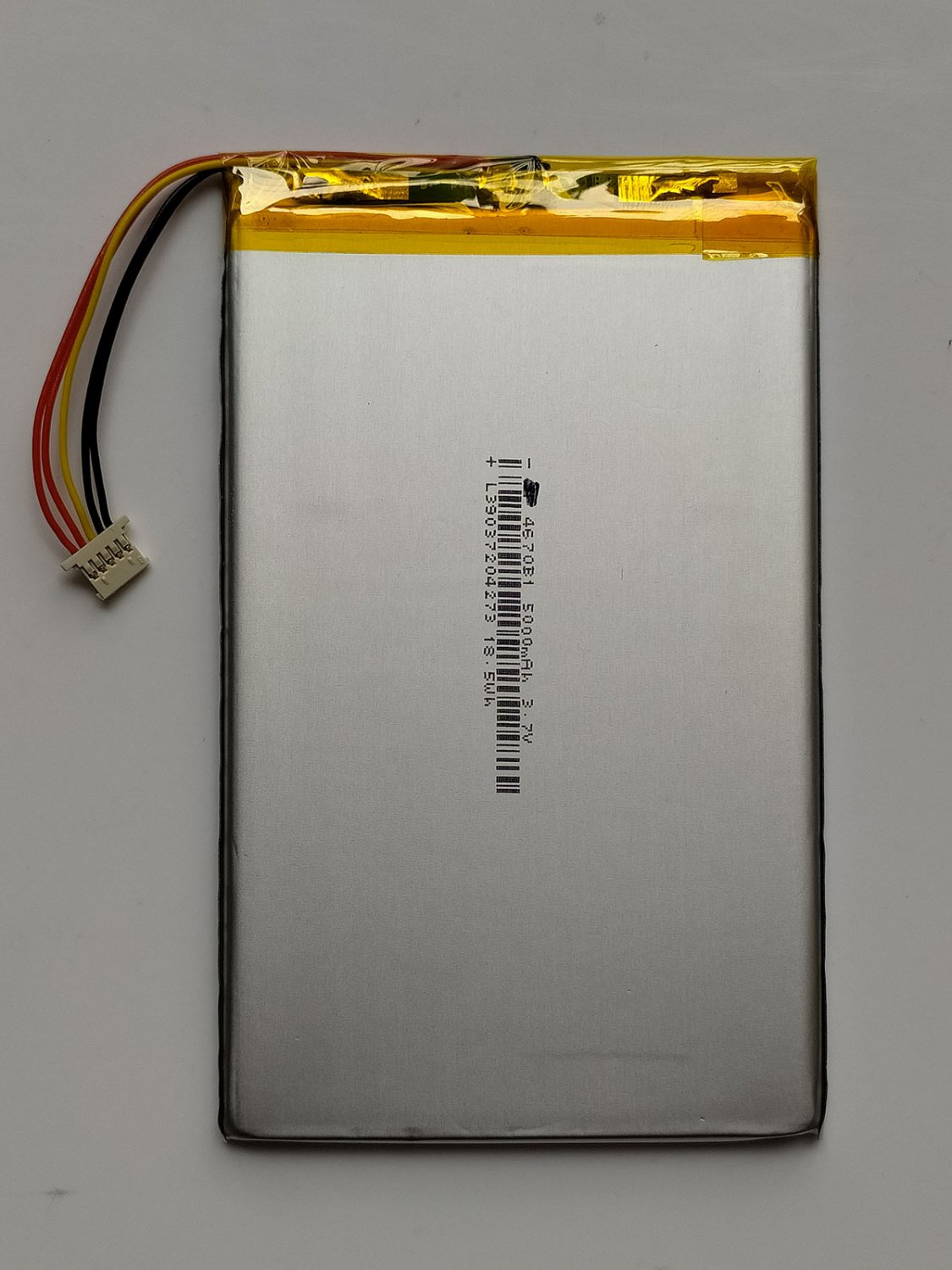MLP5070111 Battery Replacement For Autel MaxiSys MS906 MS905 5000mAh 3.7V 18.5Wh