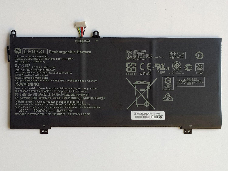 HP 929072-855 Battery For CP03060XL-PL HSTNN-LB8E 929066-421 TPN-Q195 CP03060XL