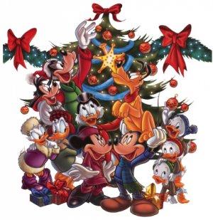 Donald Duck Christmas Return Address Labels