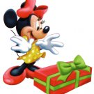 Minnie Mouse Christmas Return Address Labels